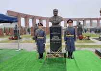 На Федеральном военно-мемориальном кладбище в Мытищах 27 апреля торжественно открыли памятник Маршалу Советского Союза Дмитрию Язову