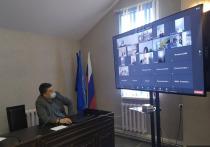 Псковские пенсионеры приняли участие в онлайн-встрече «Час здоровья»