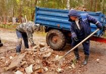 Ивановское кладбище в Серпухове приводят в порядок к Пасхе