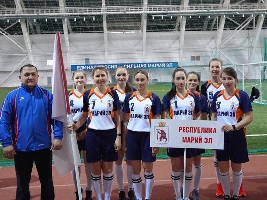 Лаптистки Марий Эл стали серебряными призерами Чемпионата России