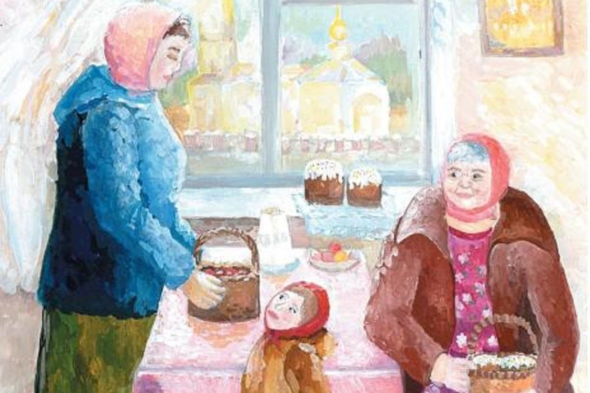 Традиция дарить открытки на Пасху пришла из дореволюционной России