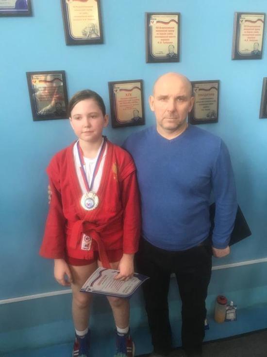 Самбистка из Ивановской области стала призером