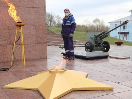 В Иванове отремонтировали Вечный огонь