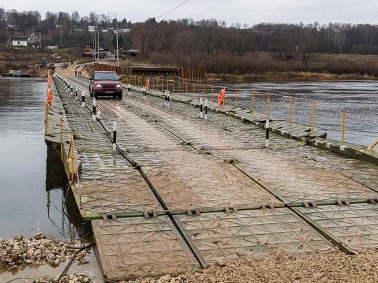 В Архангельске возобновила работу понтонно-мостовая переправа через Кузнечиху
