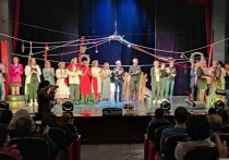 В Калмыки  завершились гастроли Национального театра Карелии