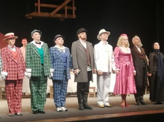 Оренбургским театралам показали мюзикл с одесским колоритом