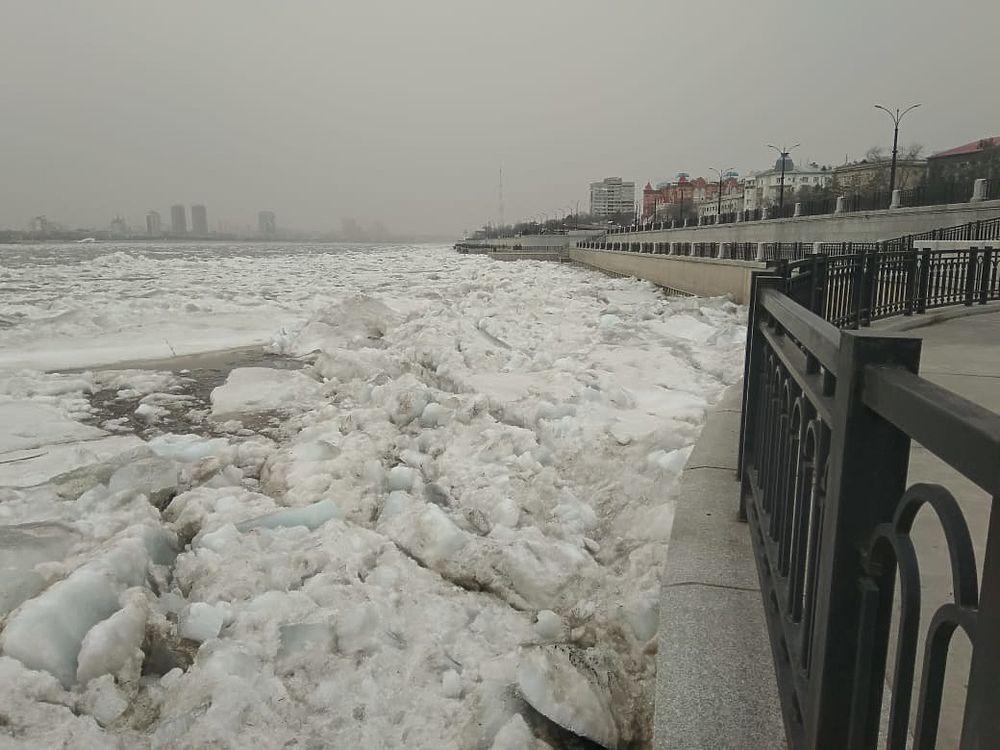 На Амуре начался ледоход