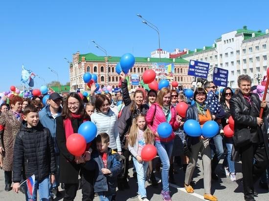 Первомайского шествия в Йошкар-Оле не будет