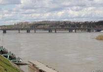 В Кузбассе за сутки почти на метр поднялся уровень воды в Томи