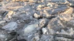 Ребенок провалился под лед Амура