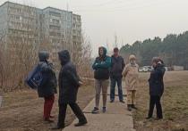 Жители улицы Институтской в Кемерове против строительства