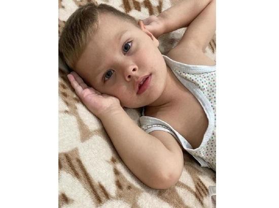 Для спасения трёхлетнего Илюши Худобы осталось меньше 25 дней