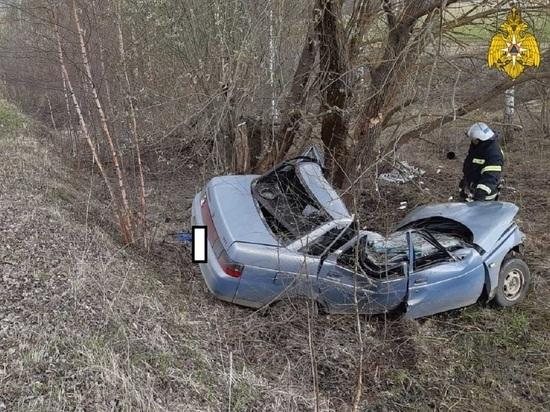 """В Калужской области погиб водитель врезавшегося в дерево """"Ваза"""""""