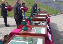 На границе Брянщины с Украиной провели передачу останков погибших бойцов