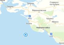 В Чёрном море у берегов Анапы произошло новое землетрясение