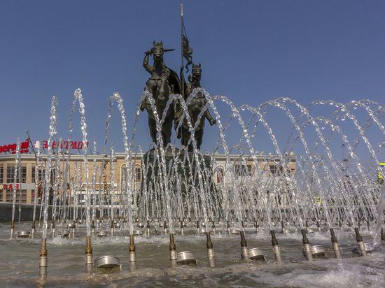 Водные городские украшения вновь радуют серпуховичей
