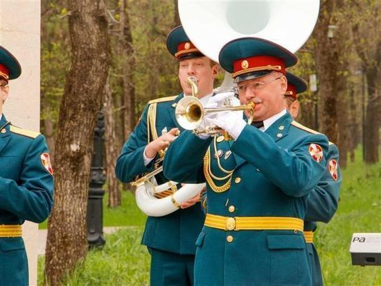 Росгвардейцы присоединились к флешмобу «Песни Победы»
