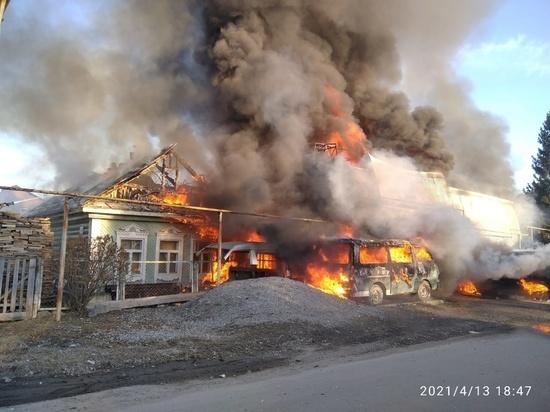 В Свердловской области ожидается сильный ветер и высокая пожарная опасность