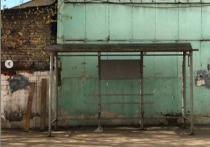 Повреждённый в ДТП остановочный павильон в Серпухове заменили