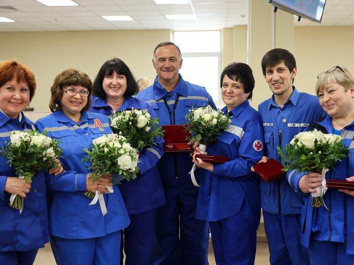 Губернатор Андрей Воробьев поблагодарил работников Скорой помощи за их нелегкий труд