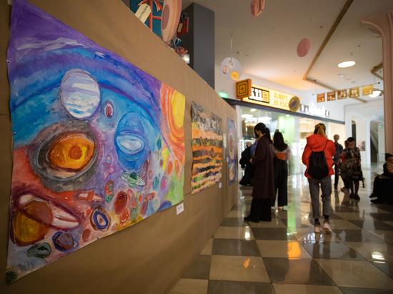 В Симферополе создали арт-пространство для людей с аутизмом