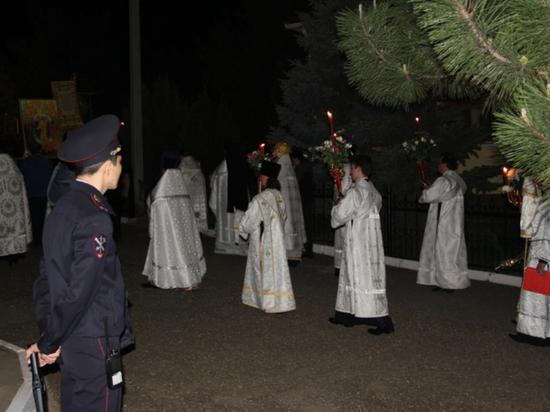 Полицейские Калмыкии будут дежурить на пасхальных мероприятиях