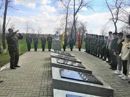 Дети из Калмыкии почтили память земляков на донской земле
