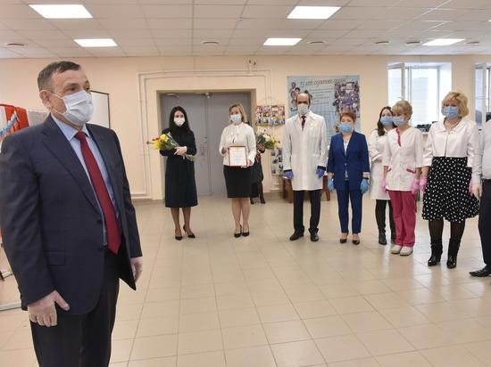 Глава Марий Эл побывал на Станции скорой медицинской помощи