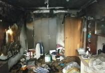В Ивановской области в очередной раз из-за курения загорелась квартира