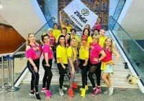 Серпуховичи приняли участие во Всероссийском фестивале любителей Зумбы