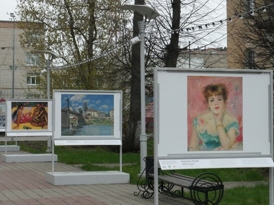 В Калуге открыли выставку под открытым небом
