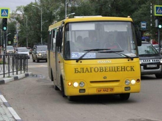 Как будут ездить автобусы в Благовещенске 9 Мая