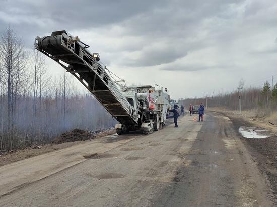 В районах Марий Эл начат ремонт дорог по нацпроекту