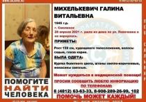 В Смоленске объявлены поиски пропавшей 76-летней женщины
