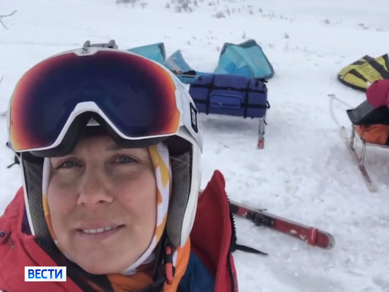 Участницы карельского кайт-марафона ТОКЕ-2021 покорили Арктику