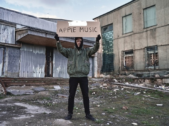 Калужский рэпер выступил против Apple Music