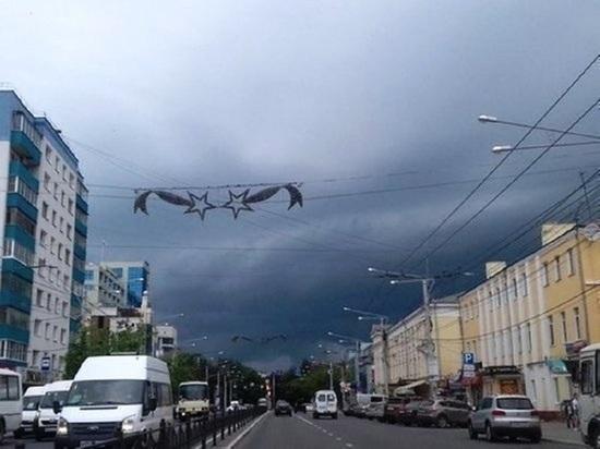 В Калужской области ожидается гроза