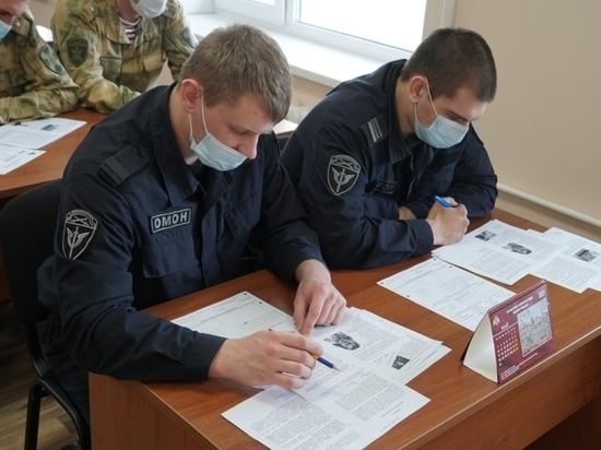 Псковские росгвардейцы написали «Диктант Победы»