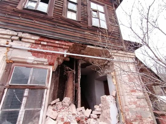 В Кировской области рушится здание 1917 года