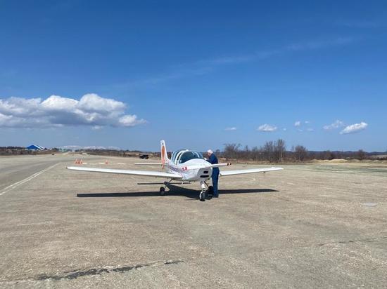 На Сахалине возобновили учебные полеты на самолетах