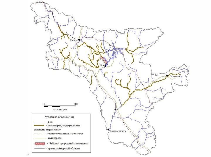 Ученые на карте отметили, какие реки оказались в зоне наивысшего риска из-за золотодобытчиков