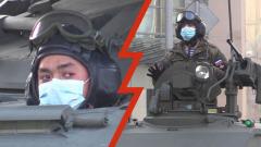 Репетиция Парада в масках, на броне: по Москве проехали танки