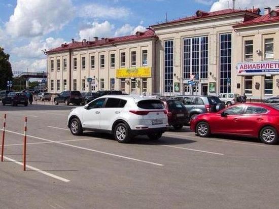 У вокзала Рязань-2 запретят парковку до 1 мая