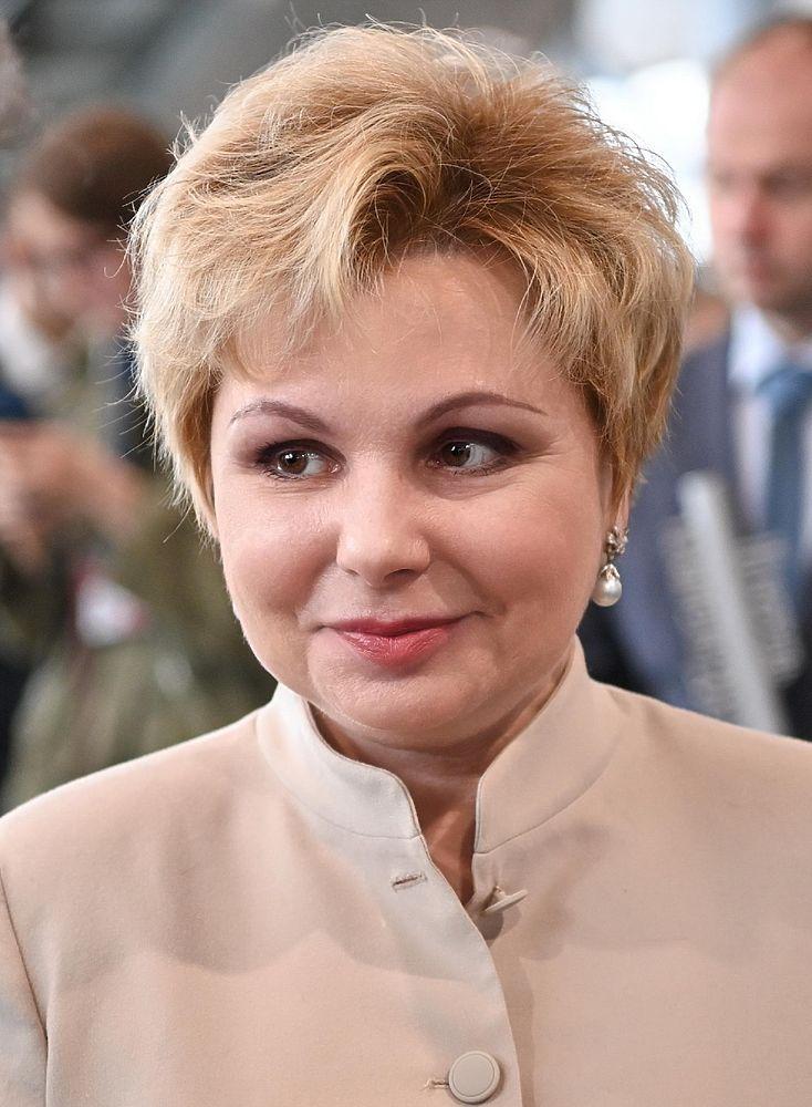 Дочь Юрия Гагарина на церемонии открытия нового музея космонавтики в Калуге