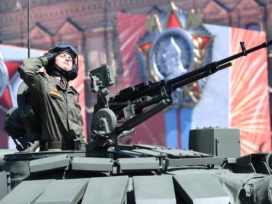 Минобороны обнародовало состав военной техники на параде 9 мая