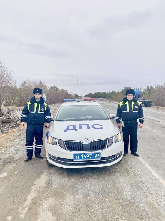 Лопнул аппендикс: автоинспекторы помогли водителю «Мерседеса» добраться до больницы Губкинского