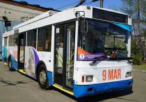 В Хабаровске в рейс вышел «Троллейбус Победы»