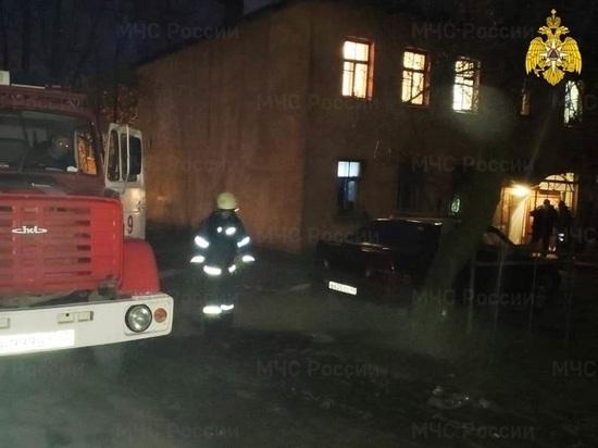 В Калуге несколько человек пострадали на пожаре в квартире