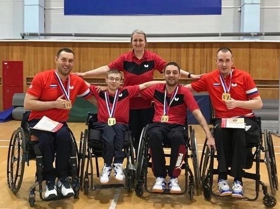 Сборная Хакасии теннисистов в пятый раз выиграла чемпионат России