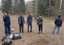 Выходцы из Азии пытались незаконно пересечь границу в Псковской области